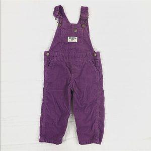 Oshkosh B'Gosh Girls Overalls Size 9 Months